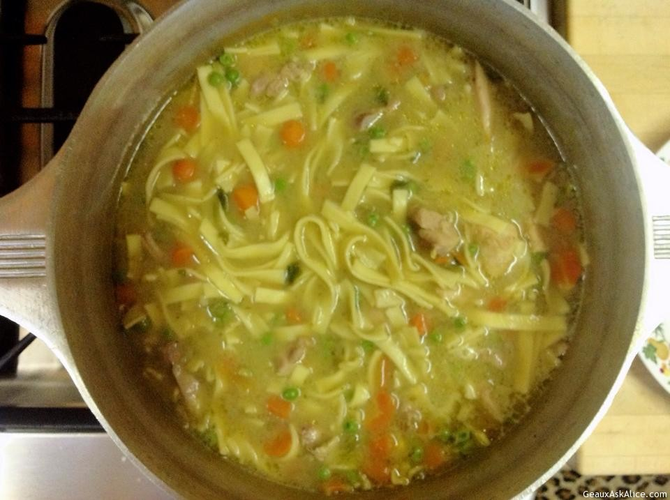 Homemade chicken soup with rice, homemade chicken noodle ...