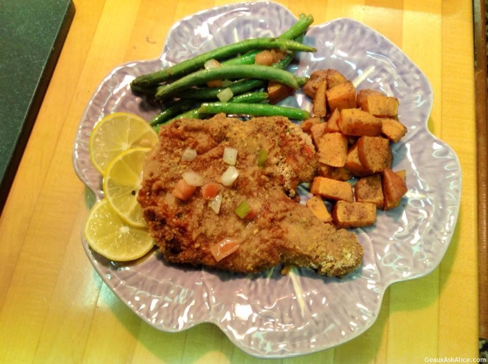 Baked Fish With Savory Bread Crumbs Recipes — Dishmaps