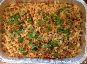 Alice's Spicy Shrimp or Crawfish Pasta Casserole