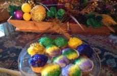 King Cake Cupcakes From Rousse's In Lafayette Sooo Yummy!