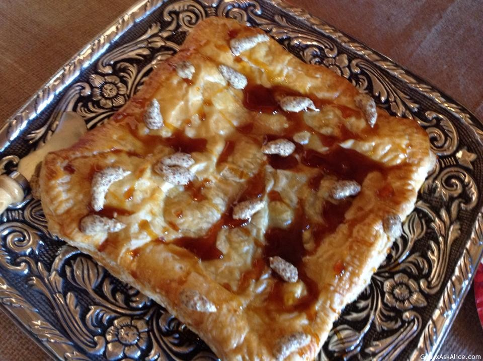 Missy's Boudin Stuffed Puff Pastry