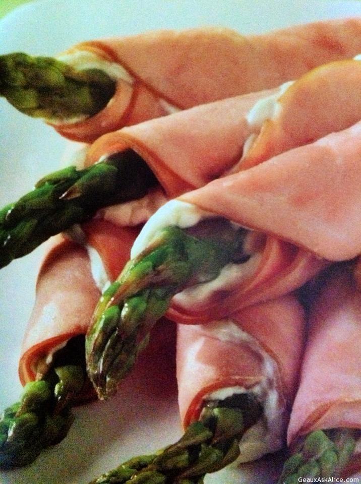 Tantalizing Ham Or Turkey Roll- Ups