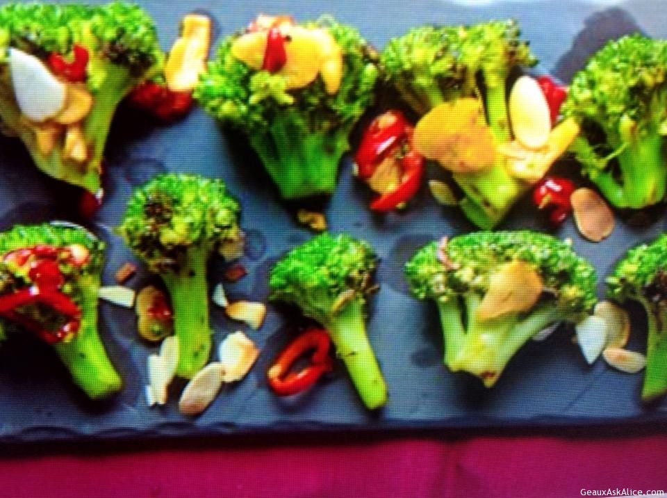 Garlicky Grilled Broccoli