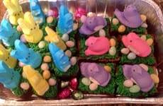Easter Brownie Peeps