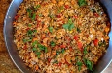 Texmati Mushroom Medley Rice with Crawfish
