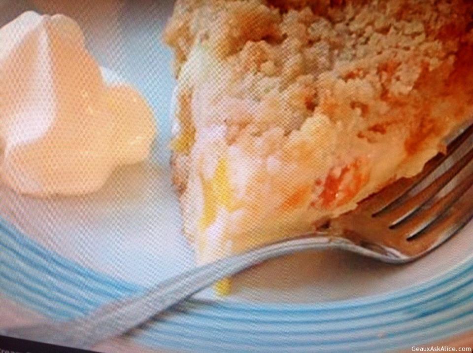 Heavenly Peaches And Cream Pie