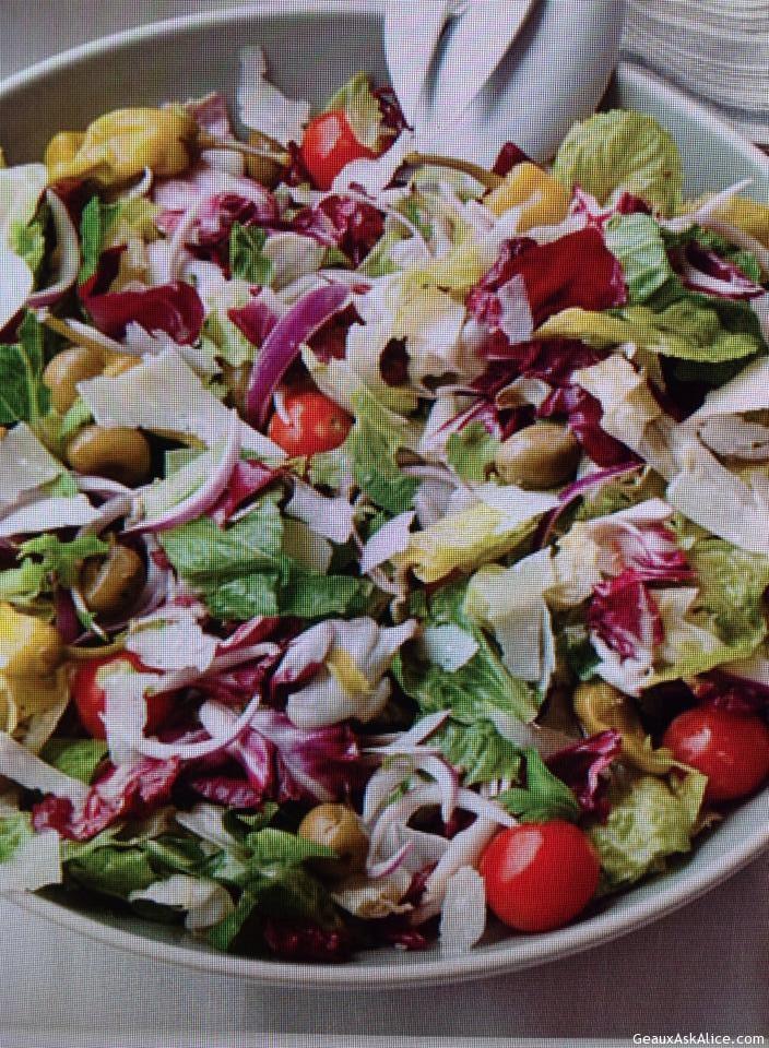 The Great Big Italian Salad