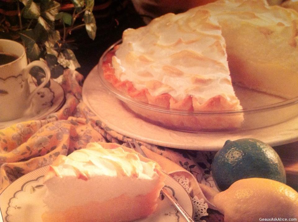 Old Family Lemon Pie
