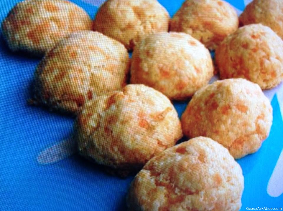 Cheese Olive Balls