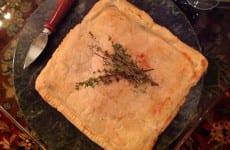 Alice's Cheese-Crawfish Stuffed Puff Pastry