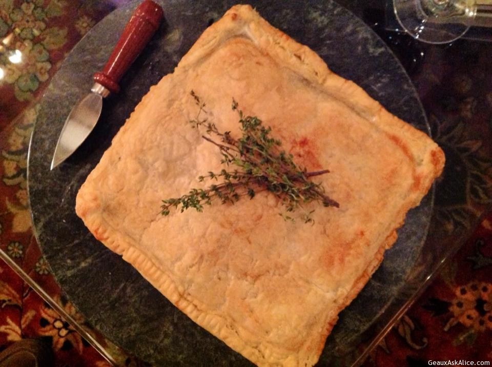 Alice's Cheese-Crawfish Stuffed Puff Pastry