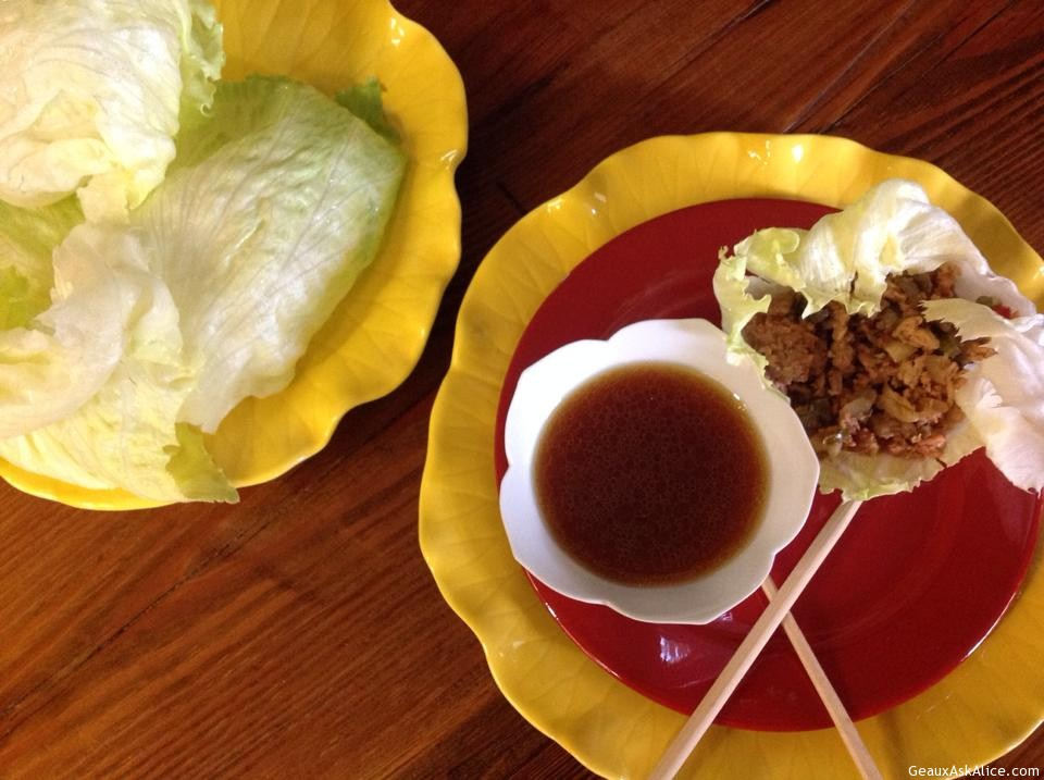 Alice's Version Of P.F. Chang's Chicken Lettuce Wraps