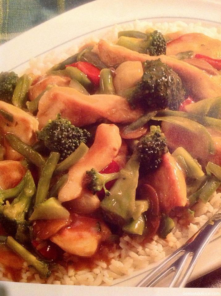 Asian Chicken Stir- Fry