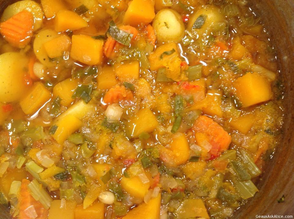 Split Pea And Yam Soup