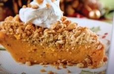 Toffee-Topped Sweet Potato Pie