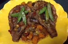 Yummy Yammy Pork Chops