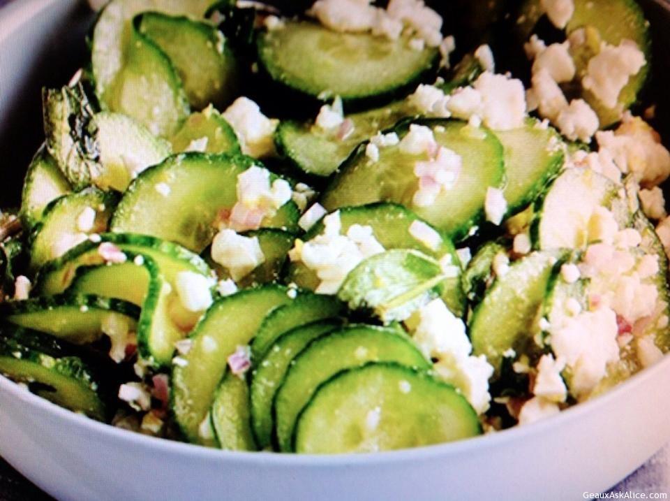 Cucumber And Feta Greek Salad
