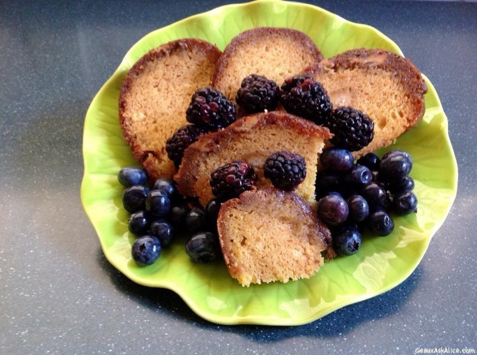 Lynn Dix's Fabulous Rum Cake