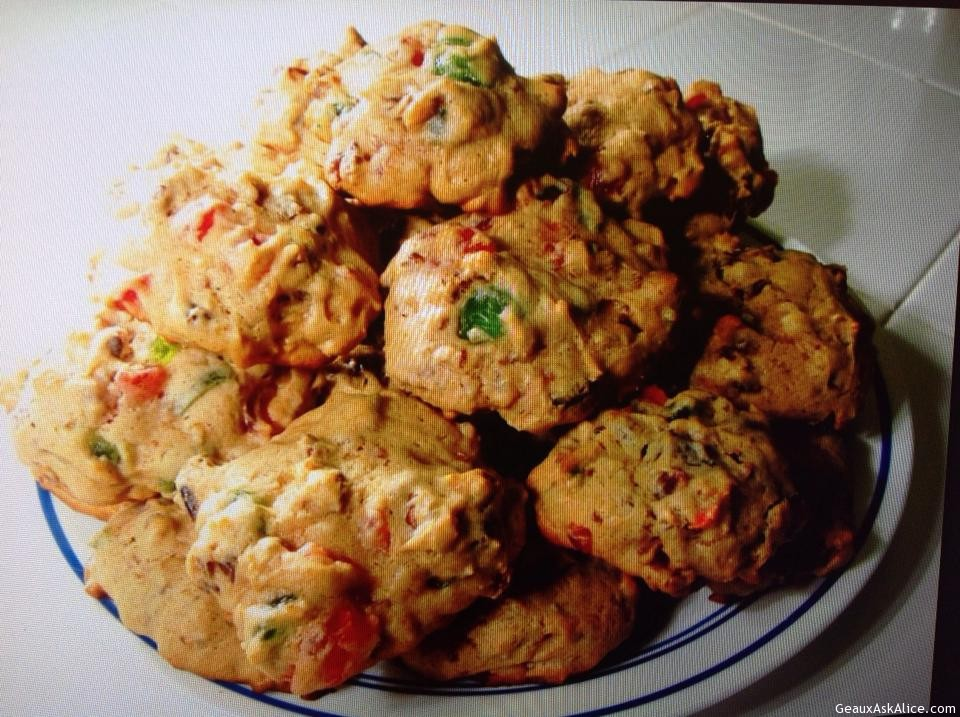 Alice's Fruitcake Cookies