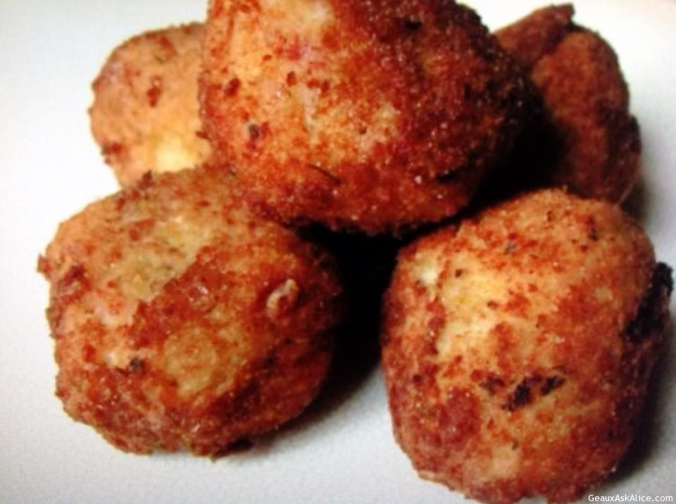 ARANCINI (ITALIAN FRIED RICE BALLS) - Geaux Ask Alice!