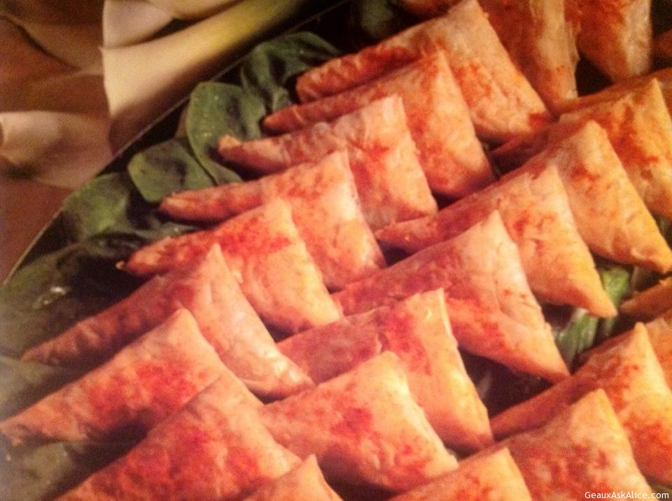 Spinach-Phyllo Triangles Or Spainkopitas