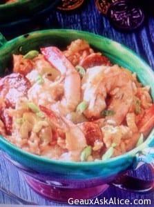 Cajun Shrimp Casserole