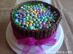 Alicia's Easter Bonnet Cake