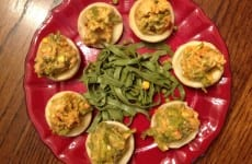 Artichoke Hearts Topped with Swiss Asparagus Casserole