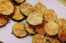Crispy Parmesan Zucchini Chips