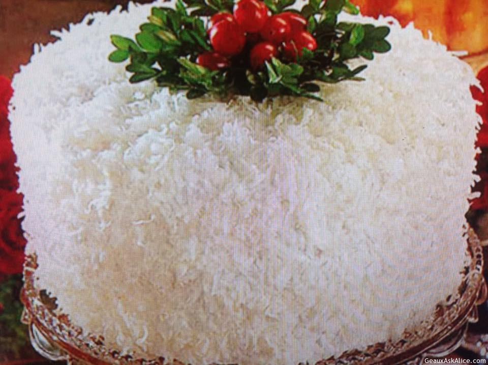Lemony Coconut Cake