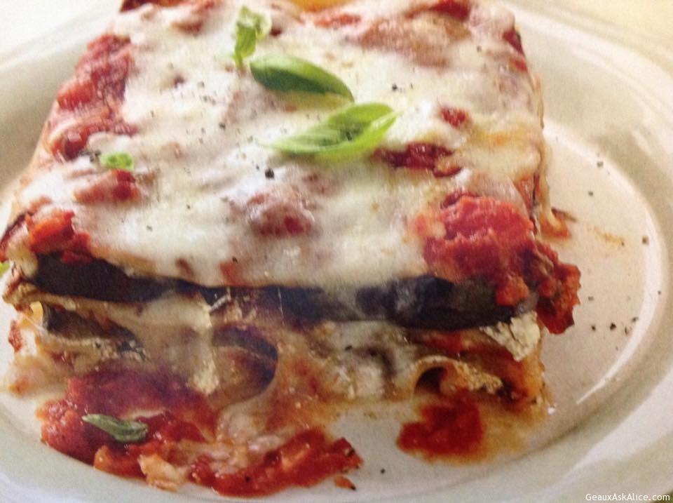 Maw-Maw's Crock Pot Eggplant Lasagna