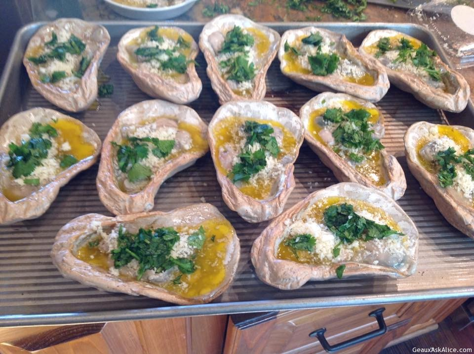 Morrow's Grilled Oysters