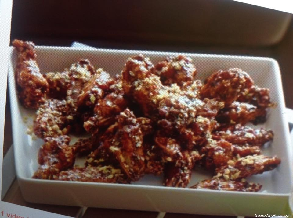 Spicy Crunchy Chicken Wings