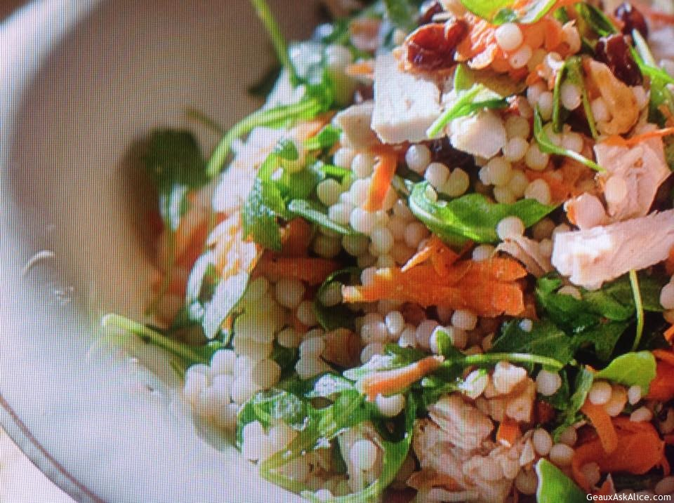 Turkey Arugula And Couscous Salad