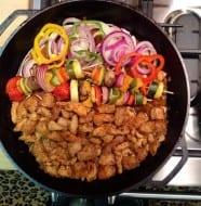 Chicken-Veggie Stir Fry