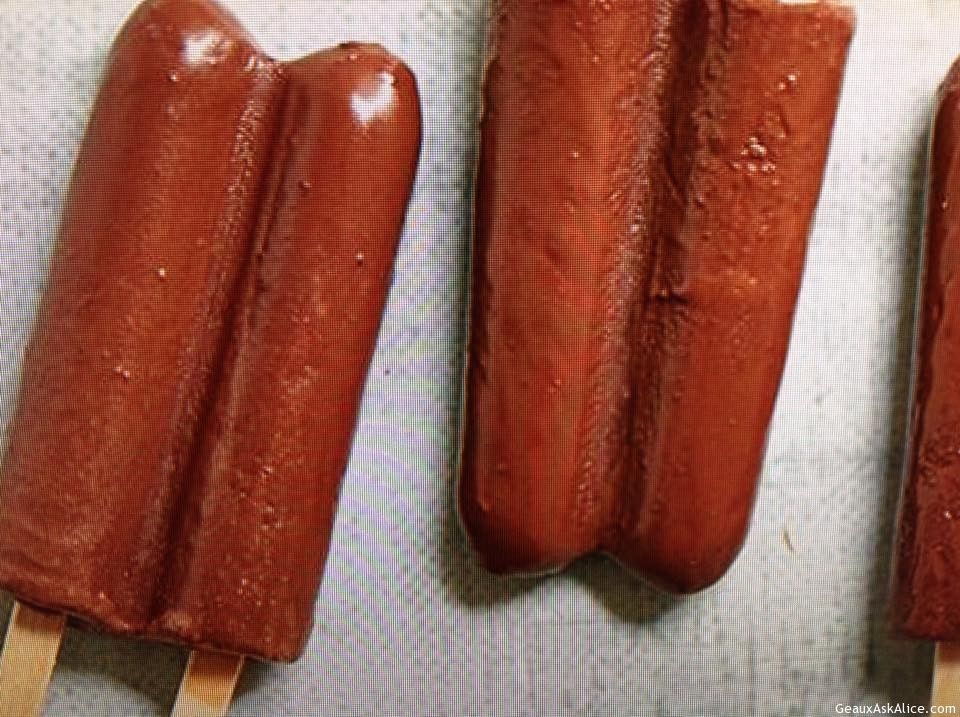 Fudgy Greek Yogurt Frozen Pops