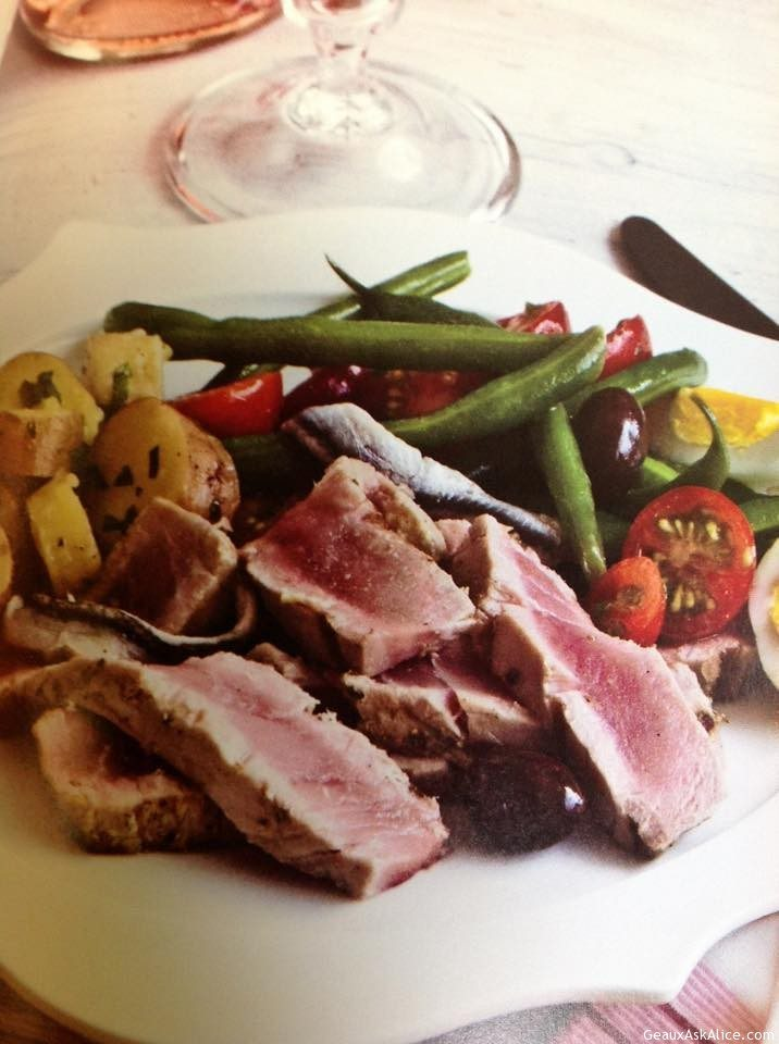 Grilled Tuna Nicoise Salad - Geaux Ask Alice!