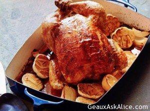 Oven Roasted Garlic Chicken