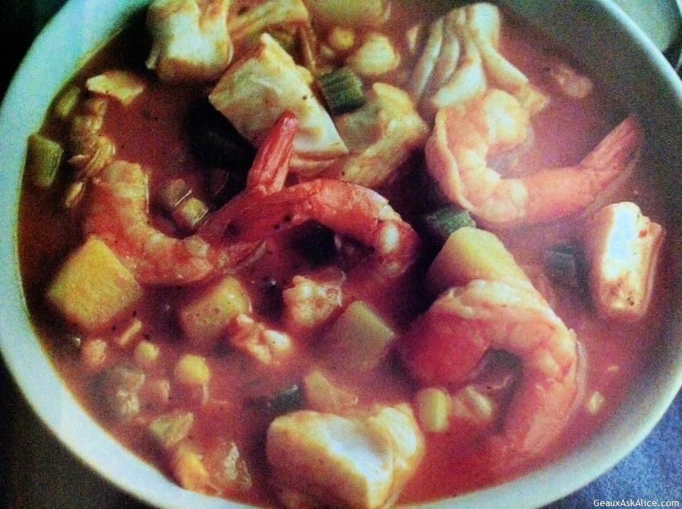 Southwest Seafood Chowder