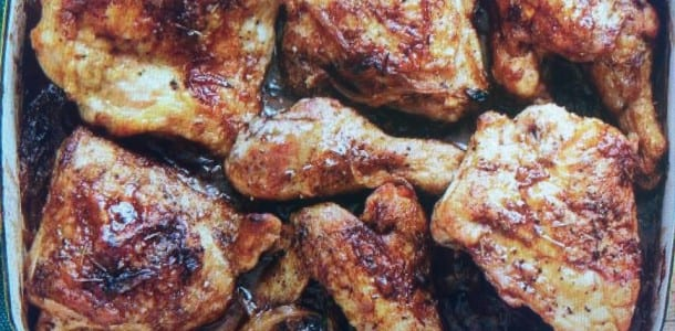 Morrow's Lemony Baked Chicken