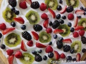 Seasonal Fruit Pizza