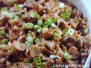 Brown Rice and Mushroom Pilaf