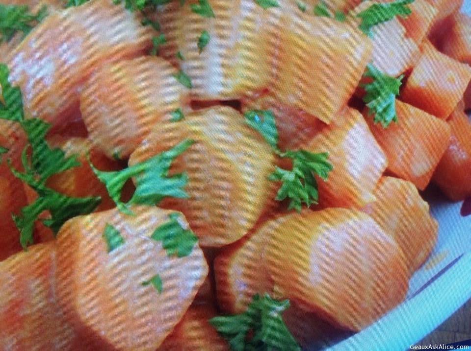 Mustard Glazed Carrots