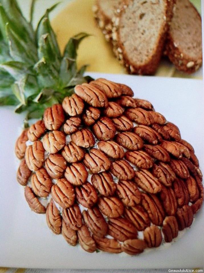 Cheesy Almond A Pineapple Spread