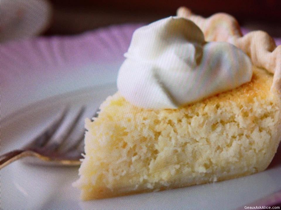 Creamy Coconut Custard Pie