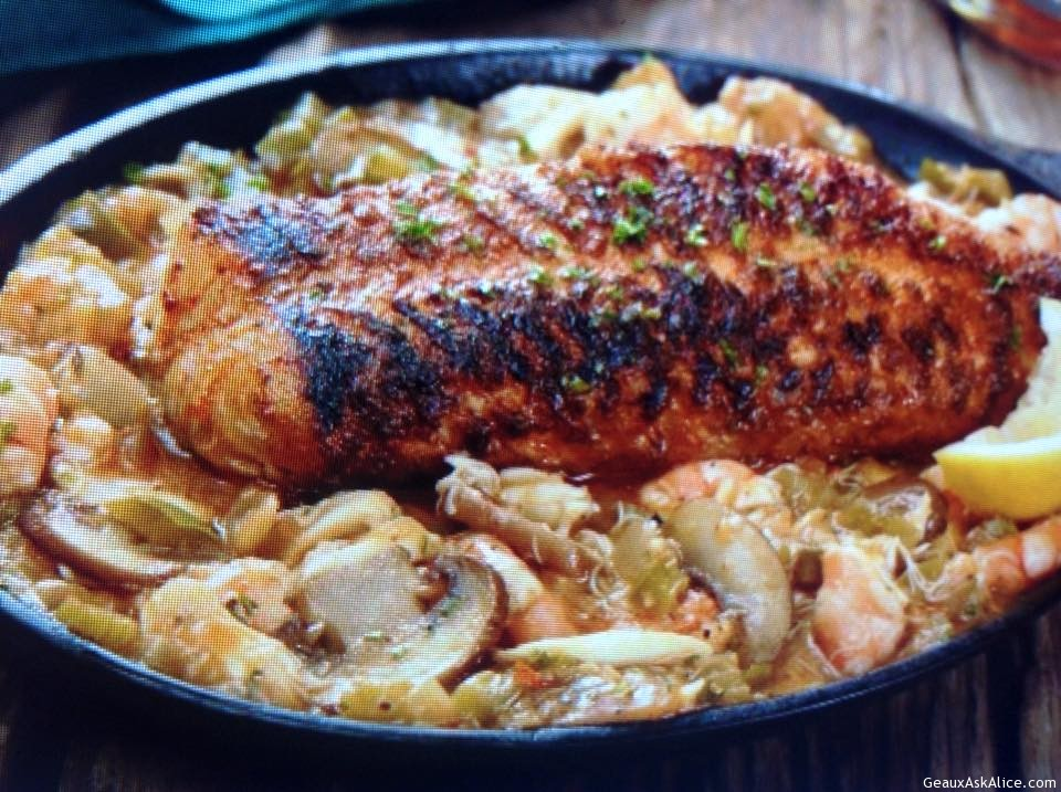 Pontchartrain Blackened Catfish