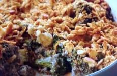 Wild Mushroom and Broccoli Casserole