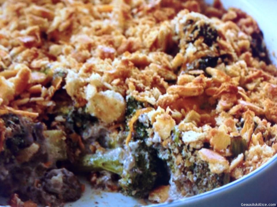 Wild Mushroom And Broccoli Casserole