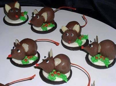 Candy Christmas Mice