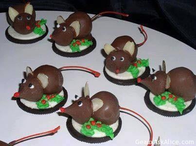 Candy Christmas Mice